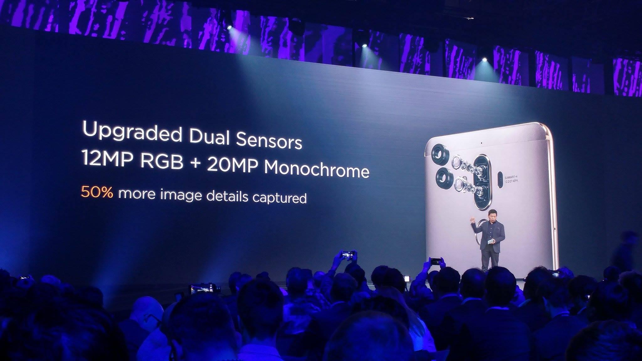 Das Huawei Mate 9 verfügt über eine Dual-Kamera von Leica.