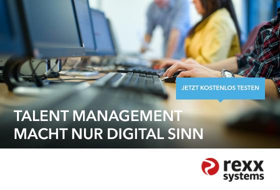 Talent Management macht nur digital Sinn