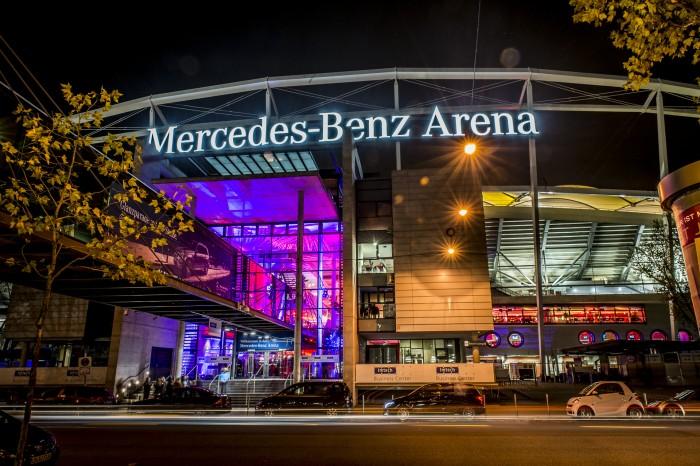 selectline Mercedes Benz Arena