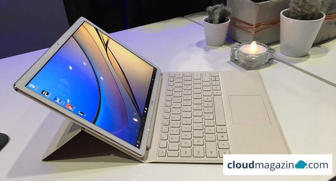 Wer es lieber flexibel mag, der sollte sich beim neuen Convertible von Huawei, dem Matebook E, umsehen. (Bild: cloudmagazin / Severin Sieber)