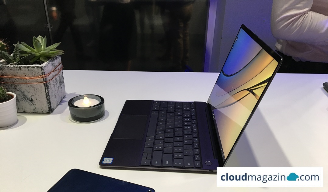 Das neue Matebook X überzeugt mit High-end Performance und wenig Gewicht. (Bild: cloudmagazin / Severin Sieber)