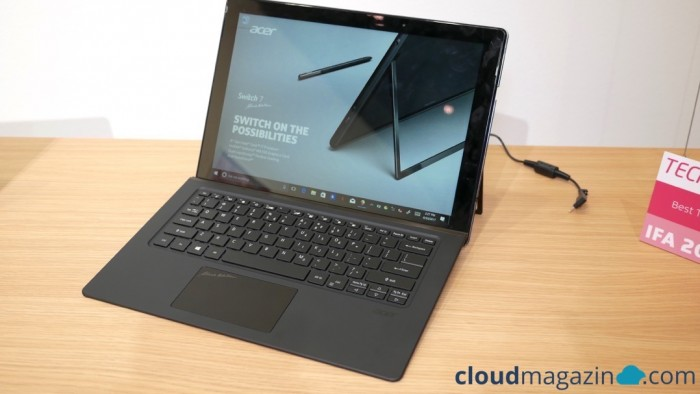 Das Acer Switch 7 Black Edition (Bild: Evernine)