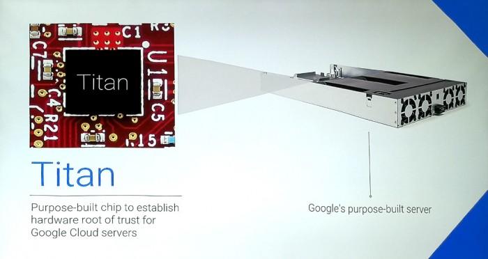 Der Google Titan Chip stellt die Legitimität der Hardware sicher (Bild: Cloudmagazin)
