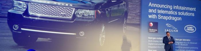 Hohe Zahlungsbereitschaft der Käuferschaft trifft auf beste Services für optimale Performance - Qualcomm soll bei den neuen Modellen von Land Rover für bestes Fahrerlebnis und Entertainment sorgen. (Bild: Evernine)