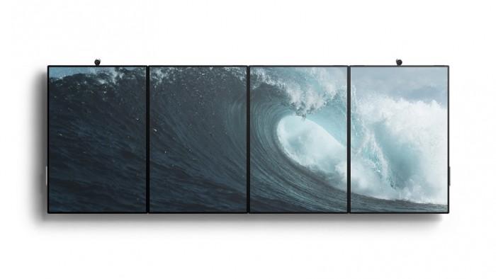Das Microsoft Surface Hub 2 ist modular erweiterbar.