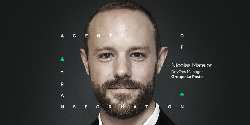 Nicolas Matelot ist DevOps Manager - Groupe La Poste