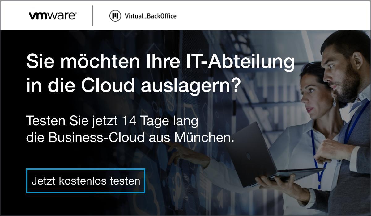 Virtual BackOffice 14 Tage kostenlos testen
