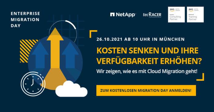 tecRacer Cloud Migration Day | Quelle: tecRacer