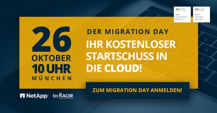 tecRacer Cloud Migration Day
